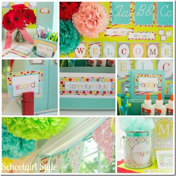 Summer Classroom Decorations : Summer soiree by schoolgirl style classroom themes