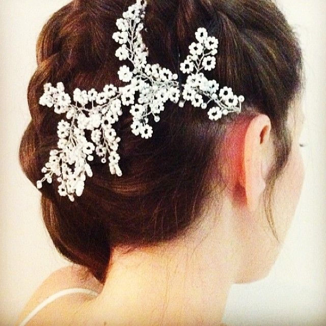 """Bridal headpiece - wedding accessories by Liricabylironc """"Hand Made Headpieces Jewelry & Accessories """""""