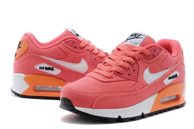 meet 00ee3 c8e4c Willtaylar Deals Nike Air Max 90 Womens Orange Shoesuk240