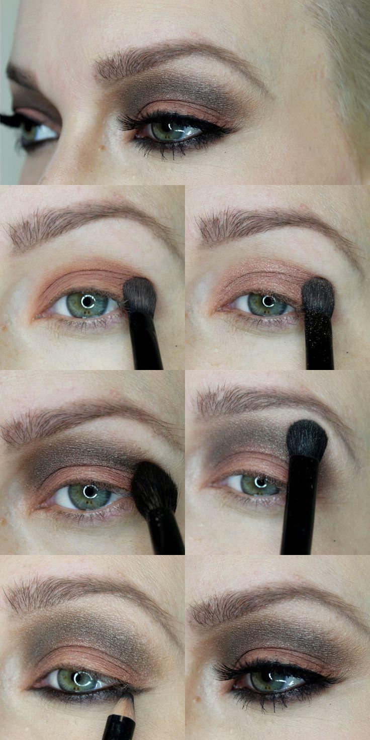 Grosse Augen Schminken Schminktipps Pinterest Make Up Make Up