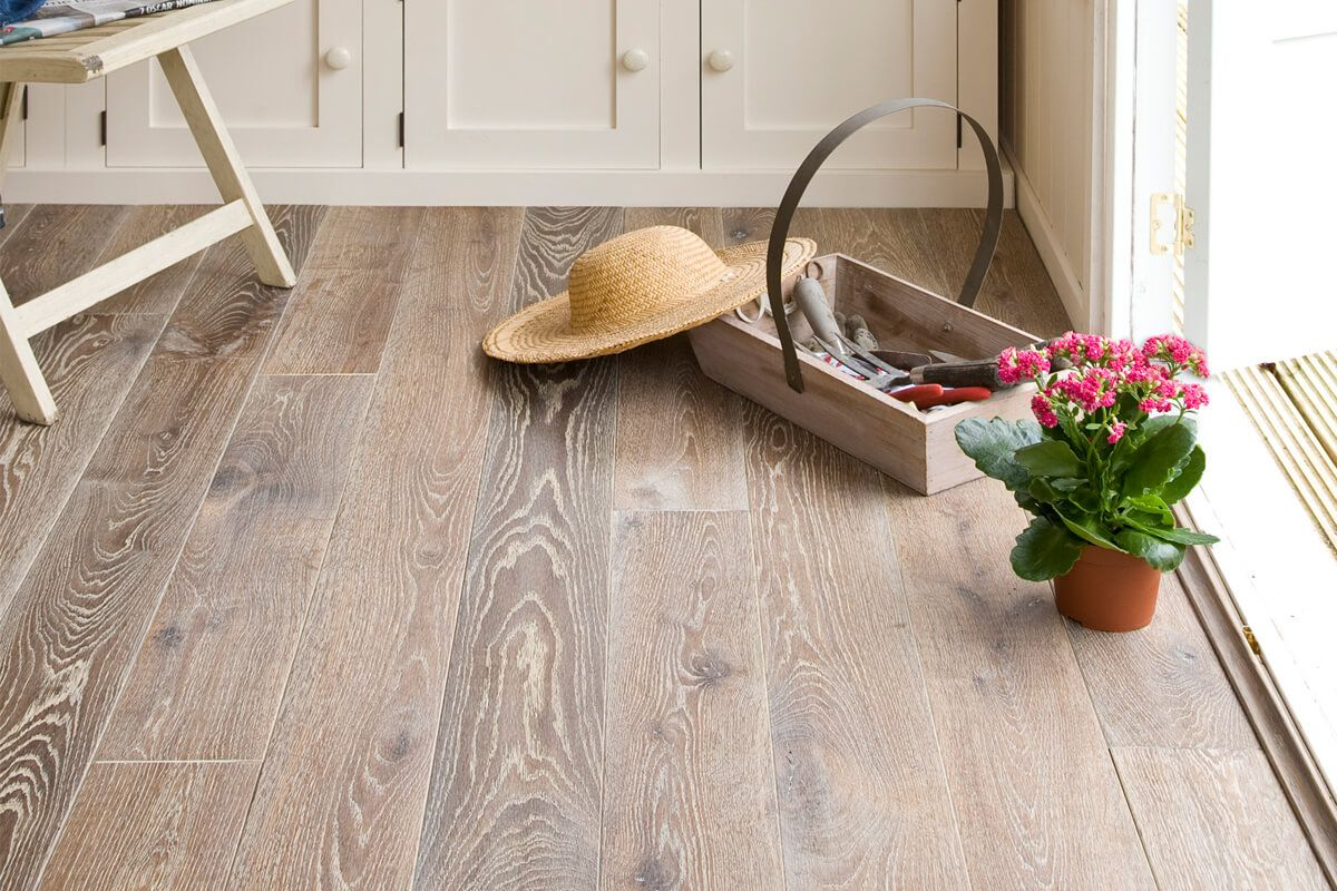 Galleria Professional Solid European Oak White Fumed 150mm