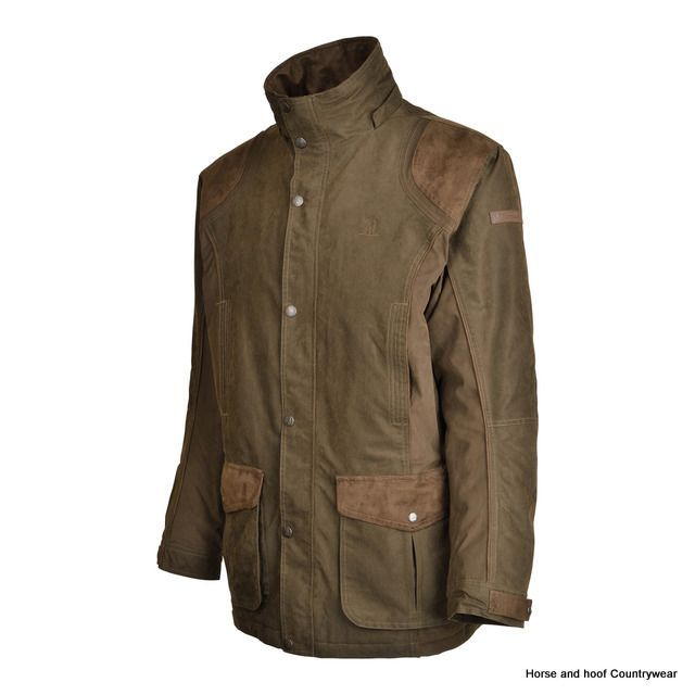 b88854c41f1 Percussion Rambouillet Jacket - Khaki Made from 85 polyester and 15  polyamide with waterproof and breathable laminated membrane Also with taped  seams