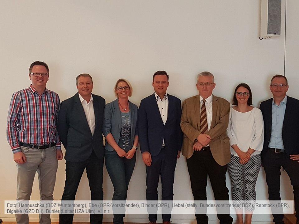 BDZ Personalversammlung beim Hauptzollamt Ulm Ulm