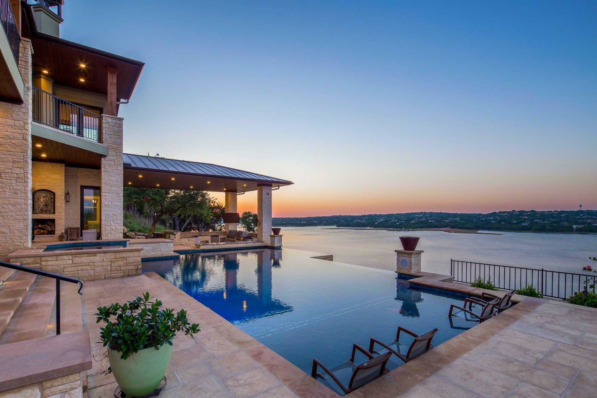 Exterior Features Lake travis, Vacation home, Austin homes