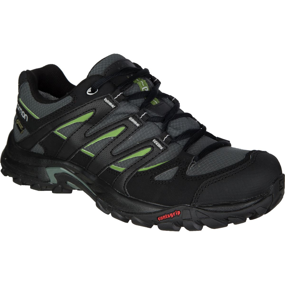 fb208e55 Salomon - Eskape GTX Hiking Shoe - Men's - TT/Black/Dark Turf Green ...