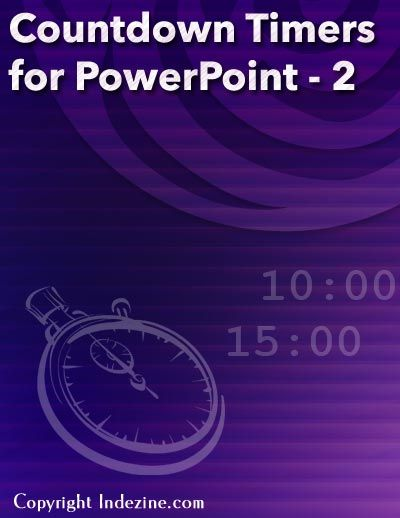 Countdown Timers For PowerPoint Set 2 Longer PowerPoint