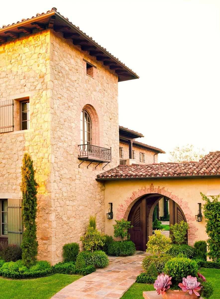 Tuscan Farmhouse Casas De Estilo Toscano Granja Italiana Estilo Mediterraneo Casas