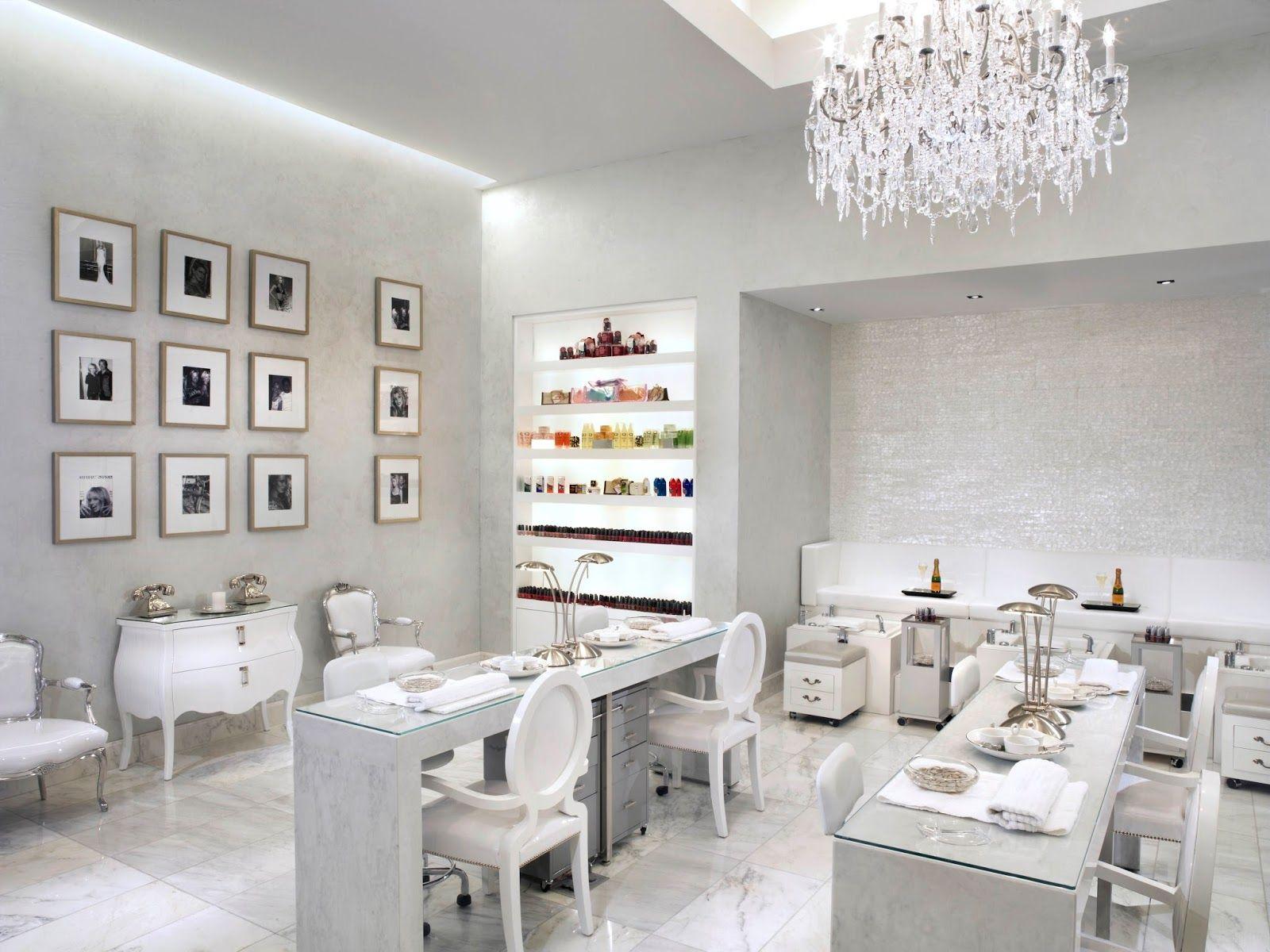 Nail bar | Nail salon design, Salon interior design ...