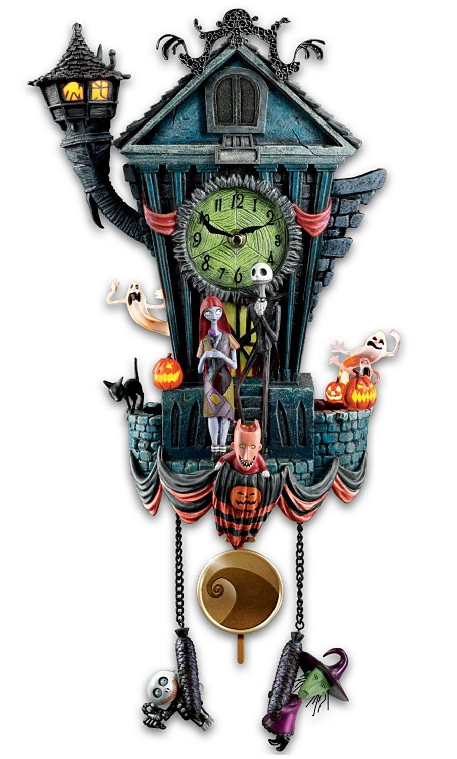 WOW! Tim Burton\'s The Nightmare Before Christmas Cuckoo Wall Clock ...