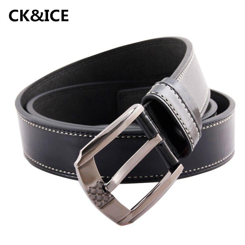 New 2017 Mens Belts Luxury PU Leather Designer Belt Men High Quality Fashion Business Belts For Men Metal