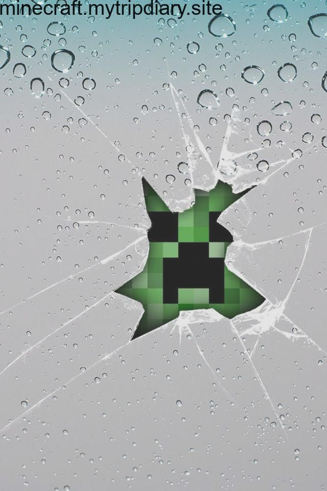 Minecraft Video Games Creeper Wallpapers Hd Desktop And Mobile 640 960 Cree Minecraft Wallpaper Creeper Minecraft Minecraft Posters