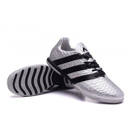 outlet store c7541 fd865 Prodaja Adidas ACE 16.3 IN IC Nogometne Tenisice Silver Black