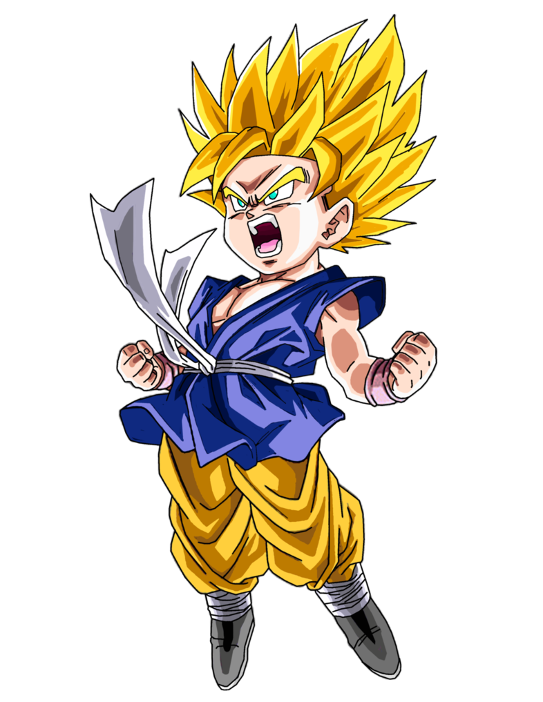 Goku Gt By Brusselthesaiyandeviantartcom On At Deviantart 0n G0ku