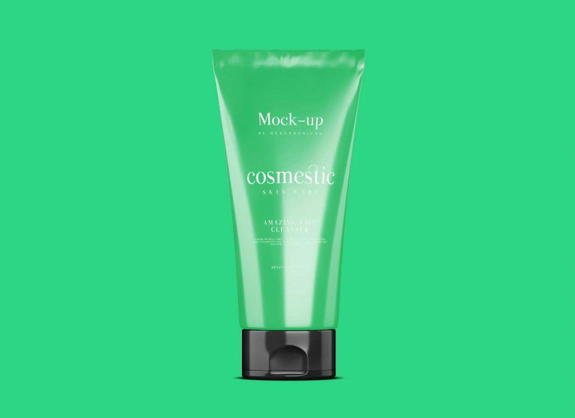 Download Free Cosmetic Cream Tube Mockup Psd Free Cosmetics Cosmetics Mockup Making Skin Care Products