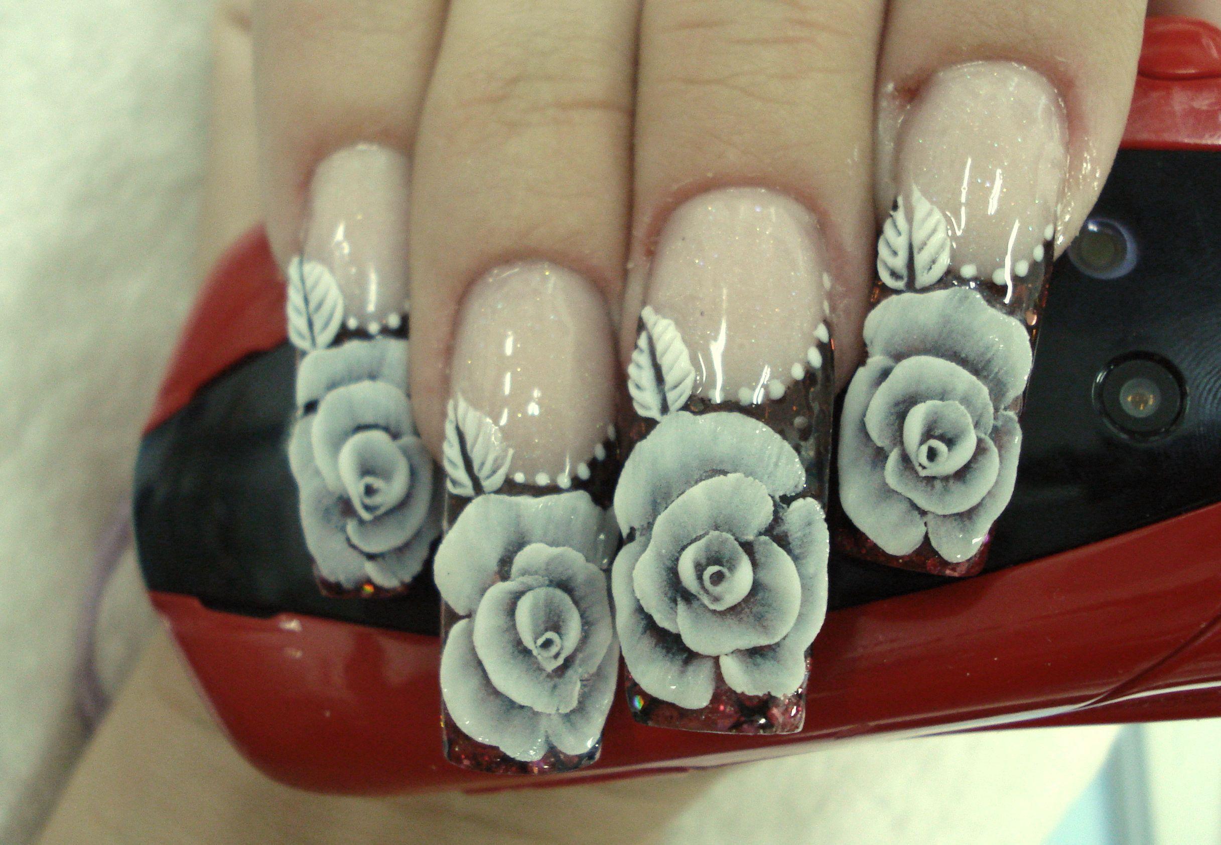 Arte en uñas | Ejemplos | Pinterest | Uñas acrílico, Estilista y Arte