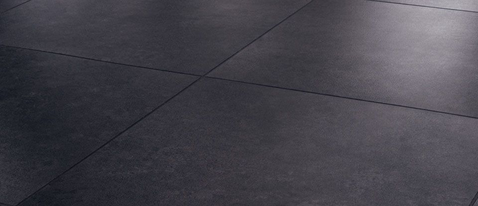 Slate And Dark Grout : Slate floor tiles quot with dark grey grout