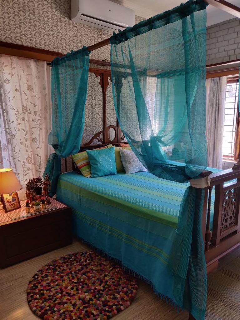 The Rameshes' DesiGlobal, Green home in Bengaluru (With