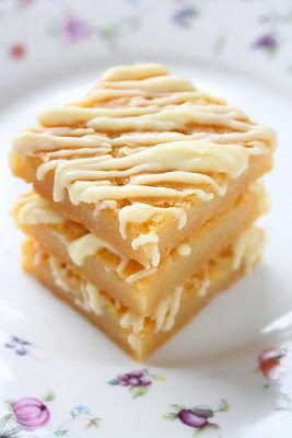 collecting memories: White Chocolate Blondies