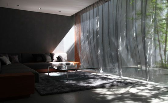 The Optical Glass House by Hiroshi Nakamura Interiors