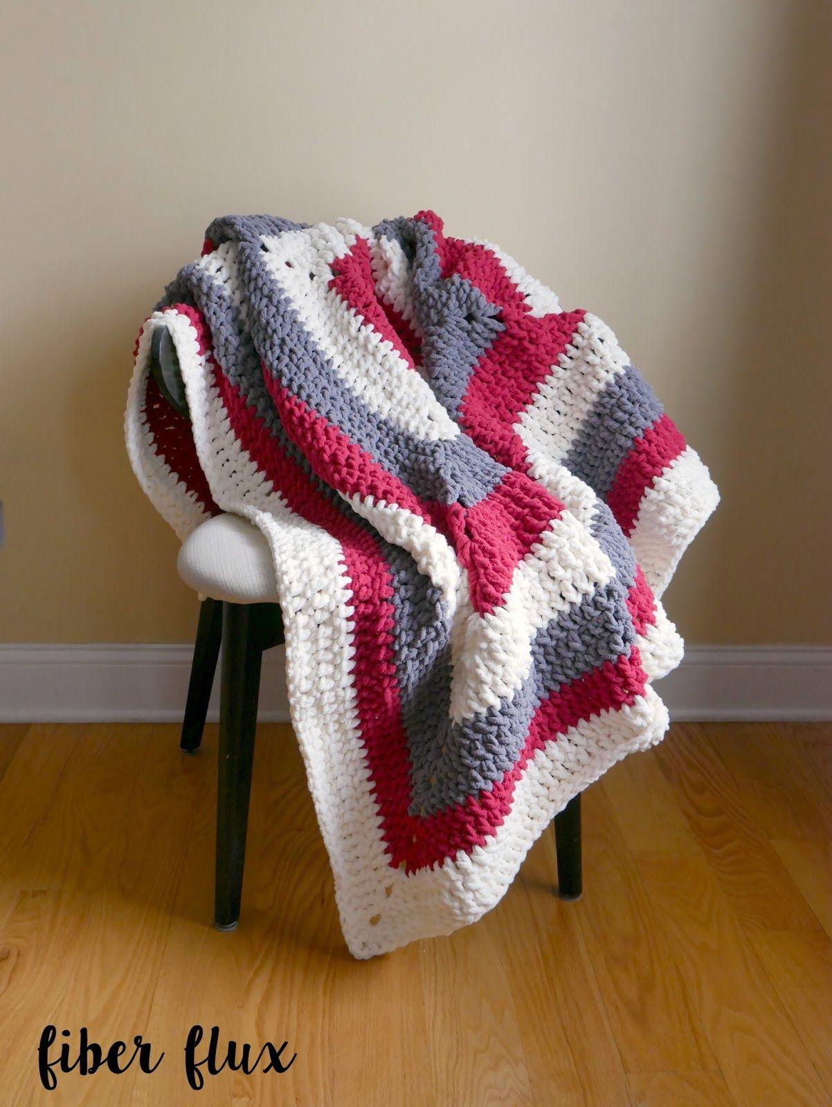 Free Crochet Pattern...Snow Berries Throw! | Crochet patterns ...