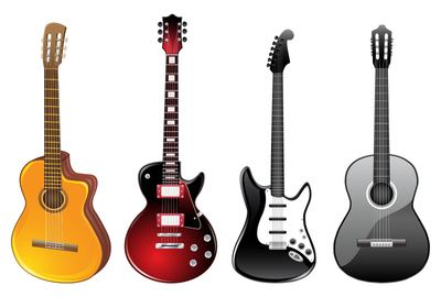 Vector Clip Art Online Royalty Free Public Domain Acoustic Guitar Guitar Semi Acoustic Guitar