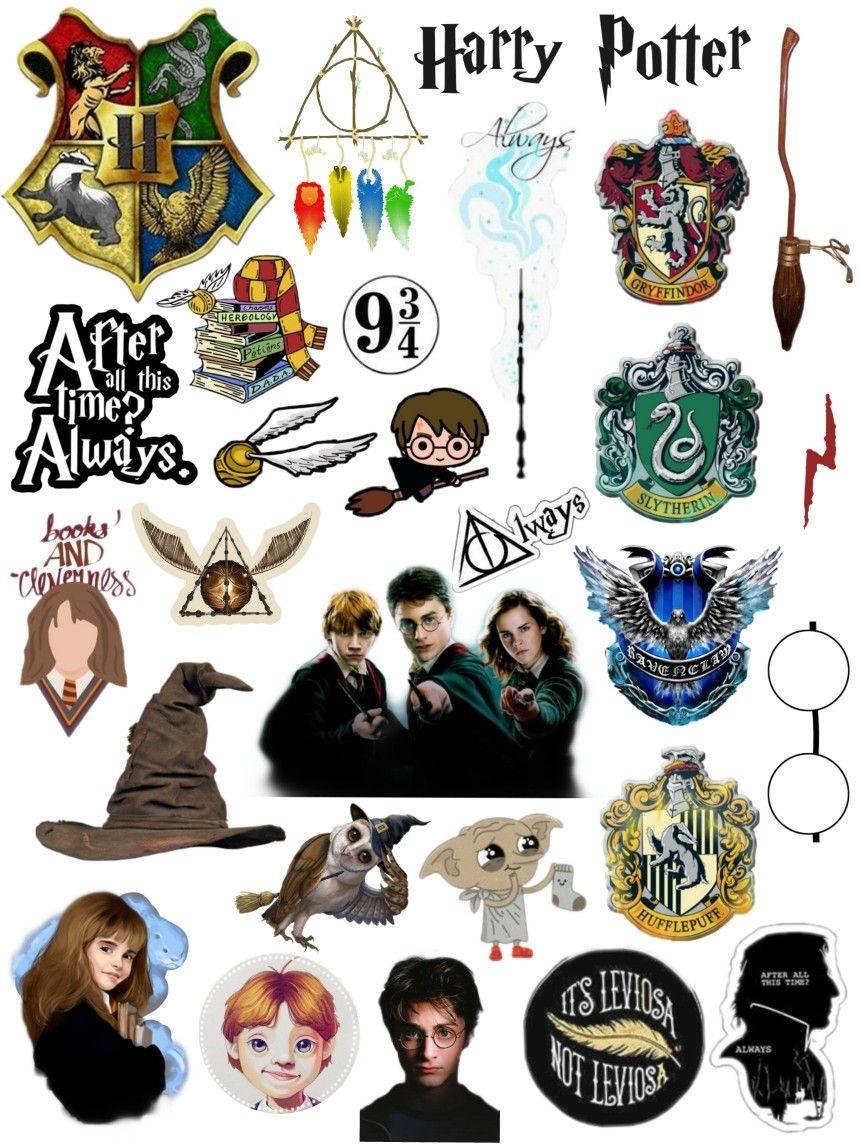 Harry Potter Stickers Ideas Harry Potter Anime Bebek Harry Potter Cikartma