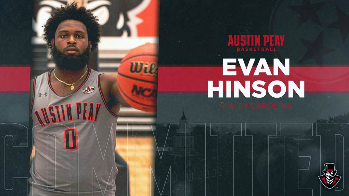 Apsu Men S Basketball Adds Evan Hinson To 2019 20 Roster Clarksville Tn Online Mens Basketball Basketball Coach Basketball