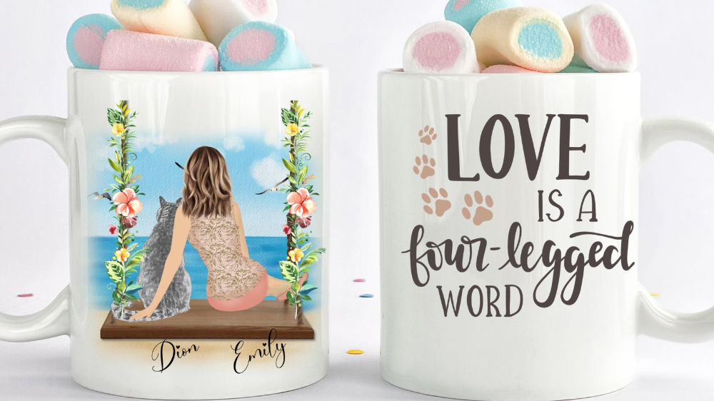 Personalized Cat Mug, Custom Cat Mom Gifts, Cat Collar, Cat toys, Custom Cat Mug, Personalized Dog Mother, Best Friends Gift, Cat fabric bed