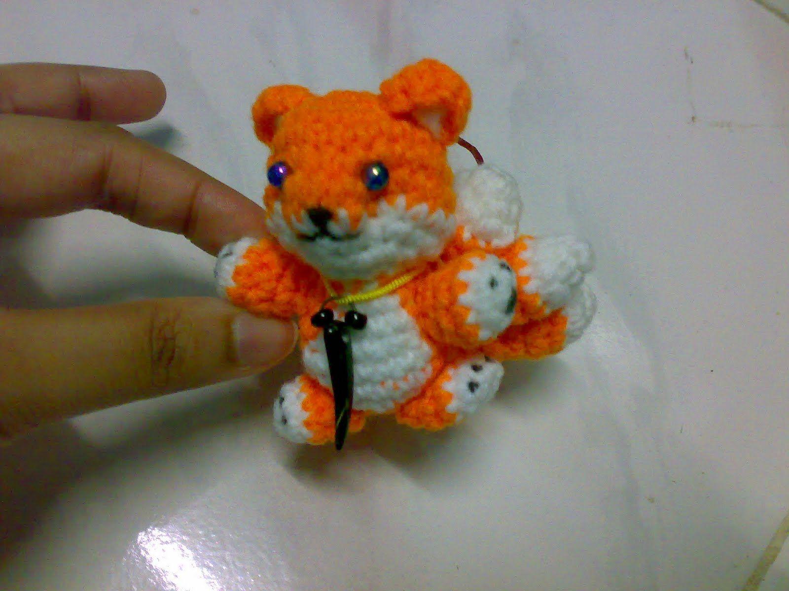 My Skills Guide: Miniature : Fox Kyuubi Amigurumi | Amigurumi ...