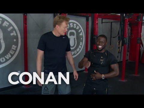 Outtakes From Conan Amp Kevin Hart S Workout Conan On Tbs Https Www Youtube Com Watch V Mmpz7x4u4ma Conan O Brien Kevin Hart Conan