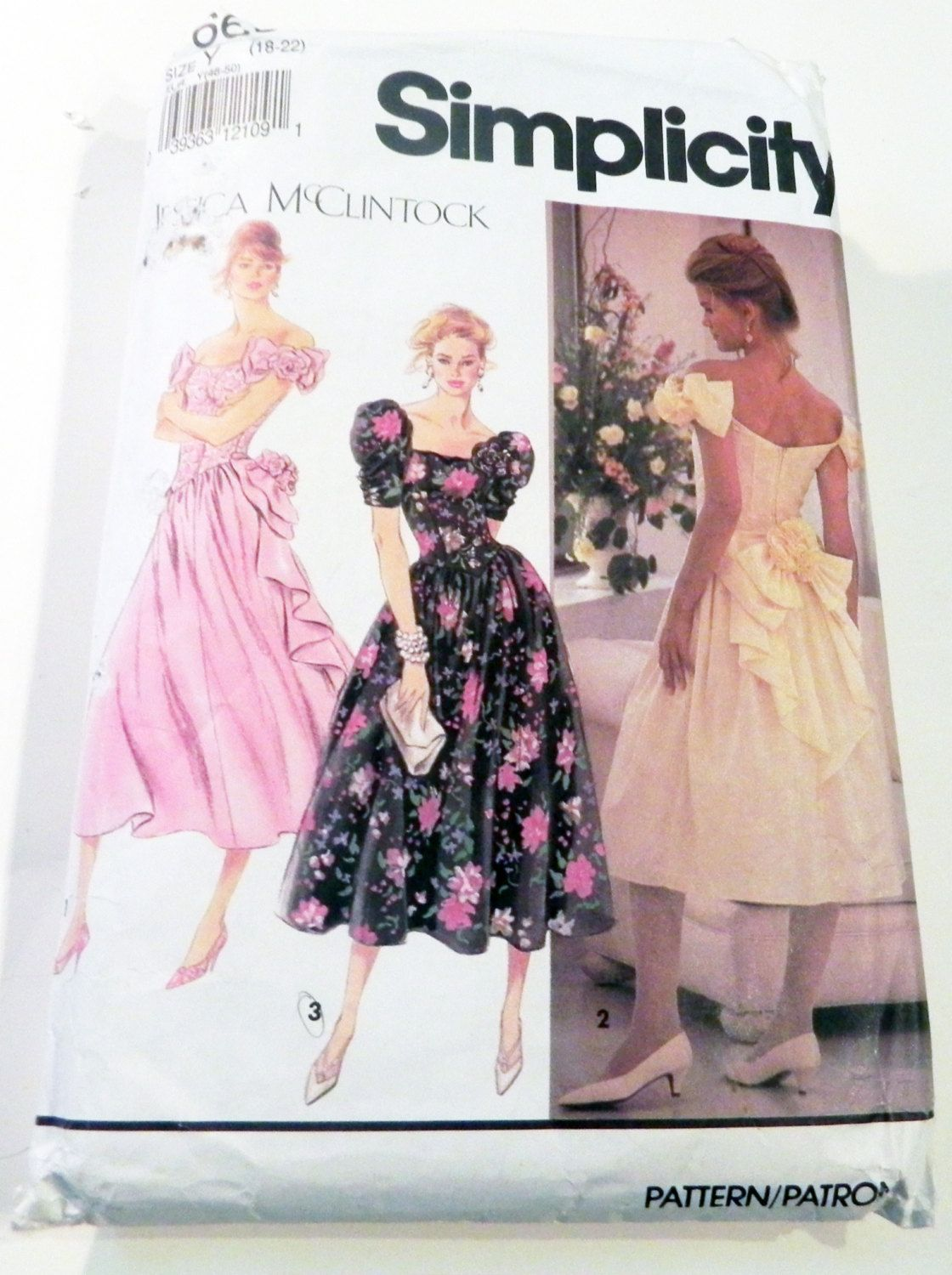1990s off shoulder prom bridesmaid dress gown cocktail jessica 1990s off shoulder prom bridesmaid dress gown cocktail jessica mcclintock sewing pattern simplicity 7660 plus size ombrellifo Images