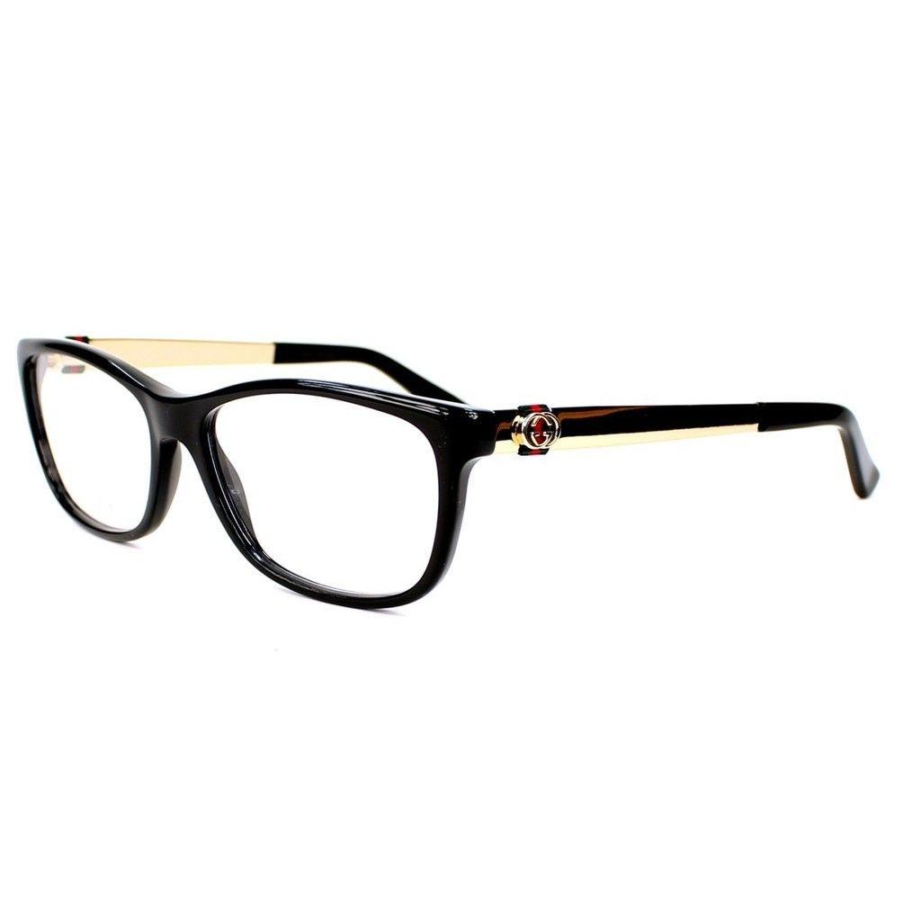Gucci 3785 0ANW Womens Rectangular Eyeglasses