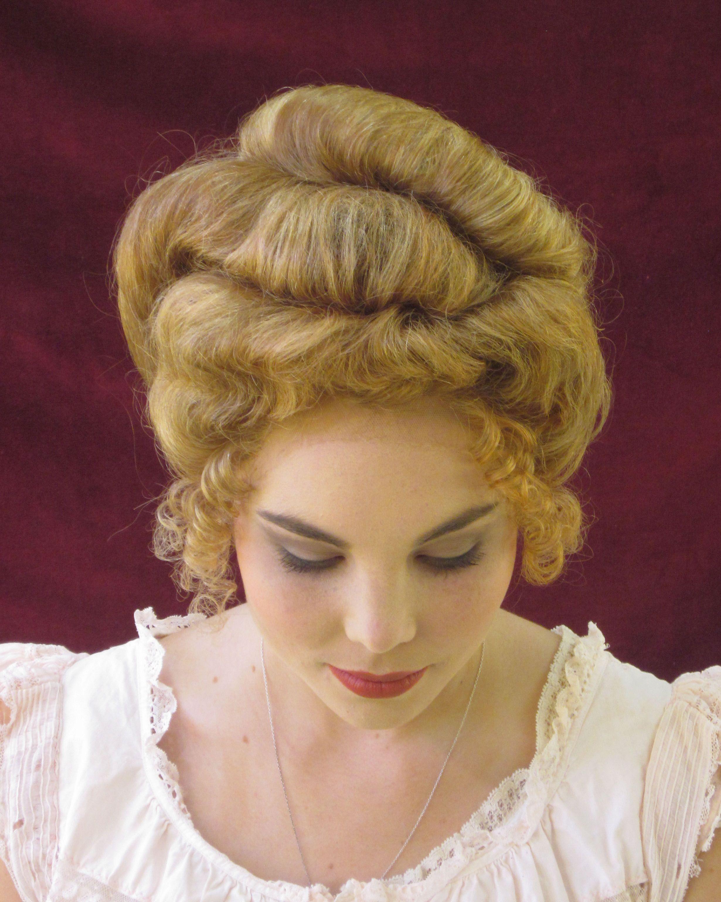 1890's hairstyle melanie