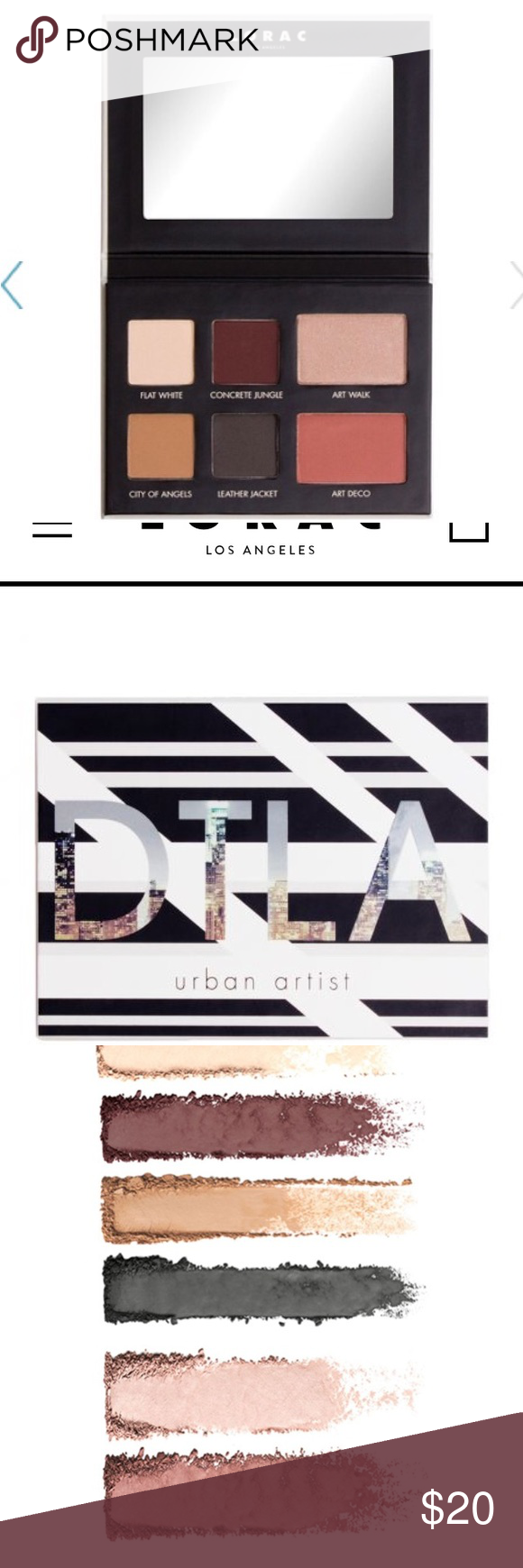 "LORAC Eye+Cheek Palette ""DTLA"" Urban Artist NWT (With"