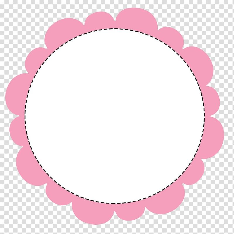 White And Pink Circle Illustration Circle Polaroid Frame Transparent Background Png Clipart Transparent Background Clip Art Instagram Logo Transparent