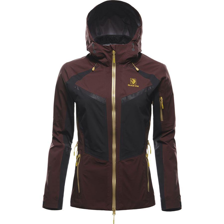 0cc9265551cb4 Black Yak - SIBU Gore C-Knit Jacket - Women s - Decadent Chocolate