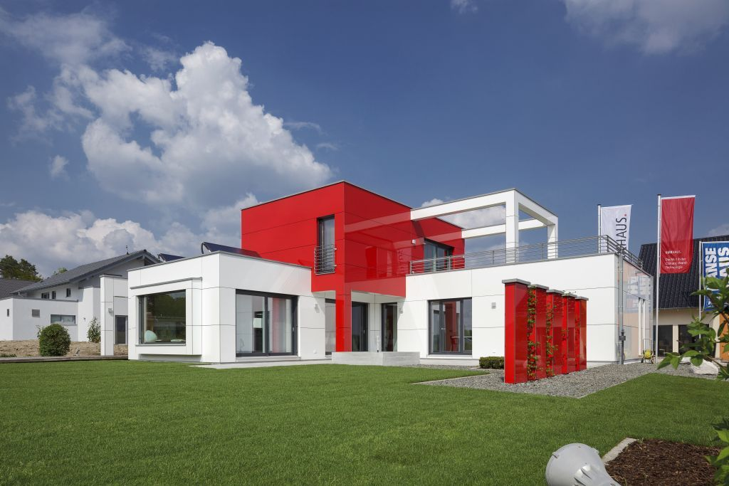 Unser Musterhaus in Nürnberg-Heßdorf. Mehr Informationen dazu finden Sie unter www.luxhaus.de