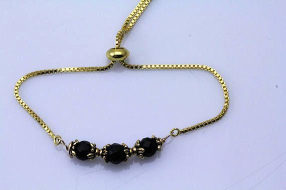 Azabache/Jet Bracelet. Listing 596242965 | Protection