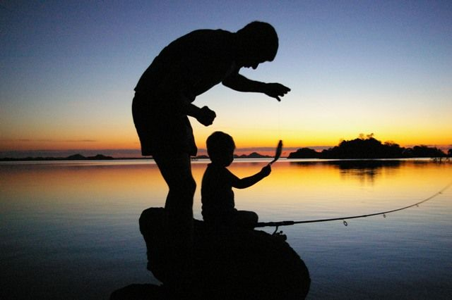 Father and son fishing trips are in harrison and dalton 39 s for Father son fishing