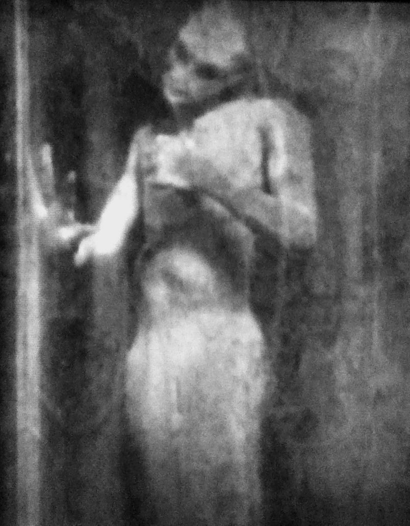 """Actual recovered photo of P.T. Barnum's """"The Real Mermaid"""" before the evidence was destroyed by a fire (seems to be a hoax to me)"""