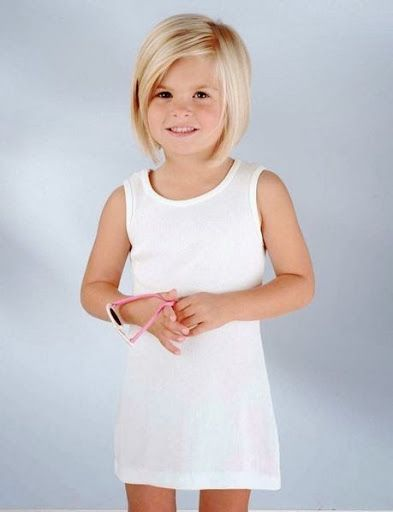 Image Result For Short Straight Hair For 9 Year Old Girl Kid Hair