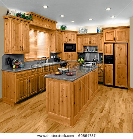 kitchen cabinets hickory more