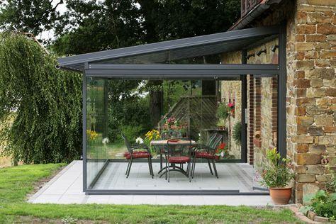 copertura terrazza in vetro | idee x giardino | Pinterest ...