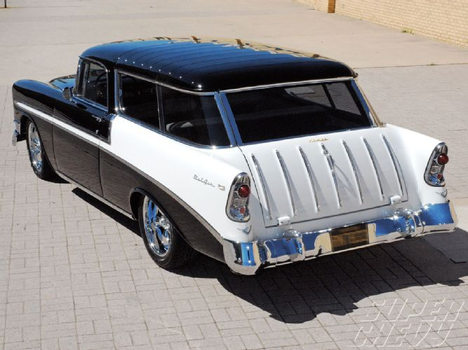 Mike Dodson S 1956 Chevy Nomad Wagon Chevy Classics Super Chevy Magazine Chevy Nomad Chevy Super Chevy Magazine