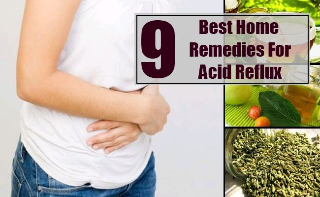 Best Home Remedies For Acid Reflux - How To Treat Acid Reflux