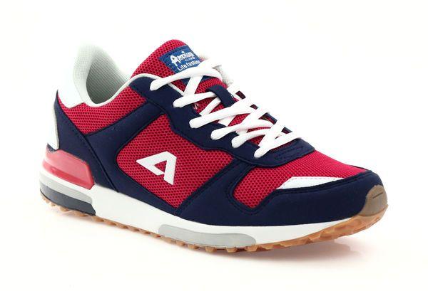 American Club Buty Sportowe American 7253 Czerwone Buty Buty Sportowe I Adidas