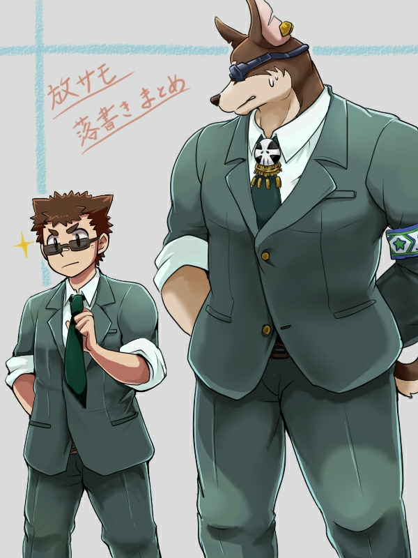 Pin by Shadowsplayzz98 on housamo in 2020 Anthro furry