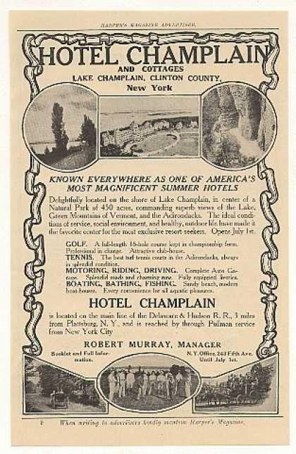 Hotel Champlain ~ Clinton County ~ New York