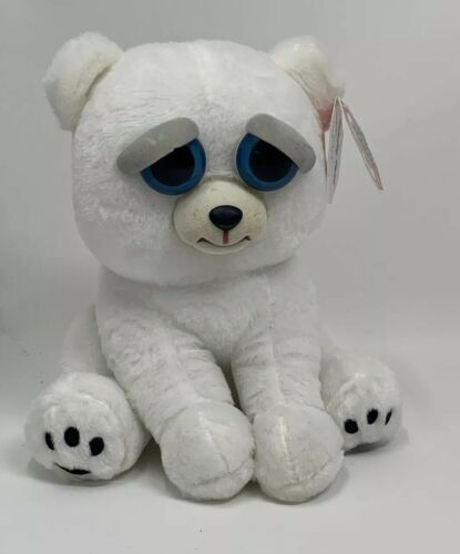 Feisty Pets Karl The Snarl Polar Bear Plush By William Mark Corp Ebay In 2020 With Images Polar Bear Plush