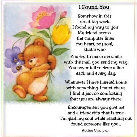 Home A Ministry 4 God I Found You Lucky To Have You Thinking Of You Quotes